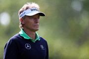Bernhard Langer of Germany walks down the 2nd fairway during the final round of the Shaw Charity Classic at the Canyon Meadows Golf and Country Club on September 2, 2018 in Calgary, Canada.