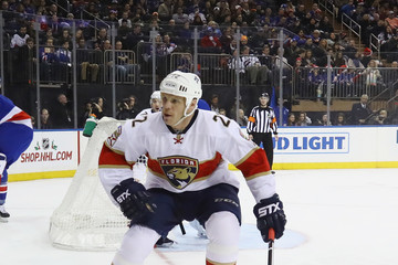 Shawn Thornton Florida Panthers v New York Rangers