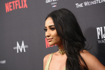 Shay Mitchell 2017 Weinstein Company and Netflix Golden Globes After Party - Arrivals