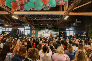 Shay Mitchell Create & Cultivate Conference In Chicago With Partners Including Microsoft Teams, JCPenney, McDonald's And Comcast NBCUniversal