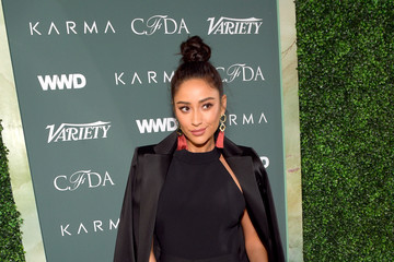 Shay Mitchell Council of Fashion Designers of America, Variety and WWD Host Runway to Red Carpet - Arrivals