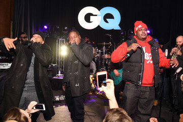 Sheek Louch The Lox GQ and LeBron James Celebrate All-Star Style - Inside