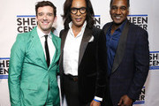 (L-R) Michael Urie, guest and Norm Lewis attend Sheen Center presents Vanessa Williams & Friends: thankful for Christmas with guests Norm Lewis, Michael Urie, and Bernie Williams at Sheen Center for Thought & Culture on November 18, 2019 in New York City.