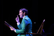 Michael Urie performs during the Sheen Center presents Vanessa Williams & Friends: thankful for Christmas with guests Norm Lewis, Michael Urie, and Bernie Williams at Sheen Center for Thought & Culture on November 18, 2019 in New York City.