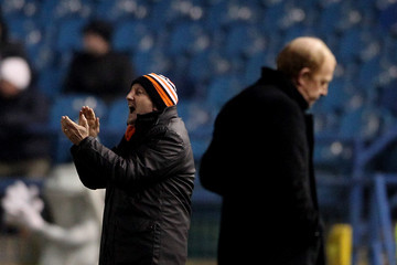 Gary Megson Sheffield Wednesday v Blackpool - FA Cup Fourth Round Replay