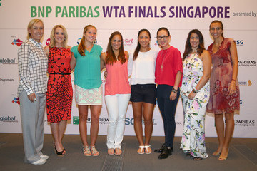 Shelby Rogers BNP Paribas WTA Finals: Day 1