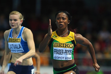 Shelly-Ann Fraser-Pryce IAAF World Indoor Championships - Day Two