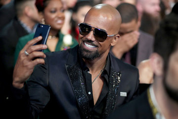 Shemar Moore 60th Annual GRAMMY Awards - Roaming Show