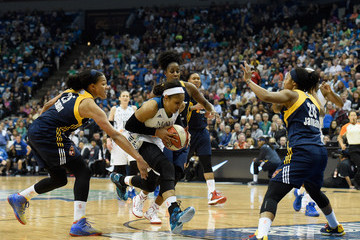 Shenise Johnson 2015 WNBA Finals - Game Two