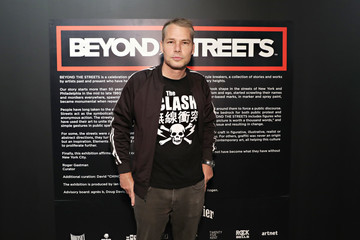 Shepard Fairey Roger Gastman And LL COOL J Host BEYOND THE STREETS Opening Night At 25 Kent