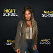 Sheree Whitfield 'Night School' Red Carpet Screening With Kevin Hart And Will Packer At Regal Atlantic Station