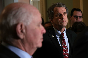Sherrod Brown Senate Democrats and Republicans Hold Weekly Policy Luncheons