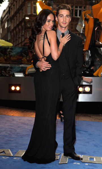 shia labeouf transformers 2 premiere. Megan Fox and Shia LaBeouf