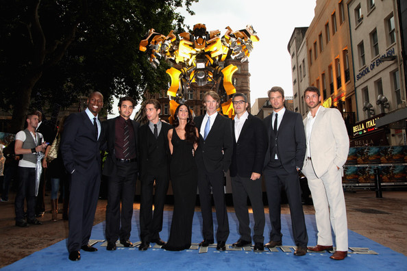 shia labeouf transformers. Shia LaBeouf and Tyrese Gibson