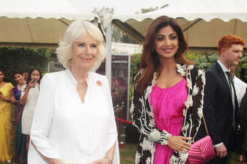 Shilpa Shetty The Prince Of Wales & Duchess Of Cornwall Visit Singapore, Malaysia, Brunei And India - Day 10