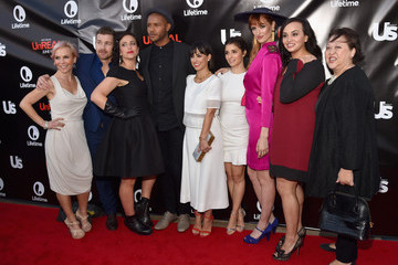 Shiri Appleby Jeffrey Bowyer-Chapman Lifetime and Us Weekly Host 'UnREAL' Premiere Party - Red Carpet