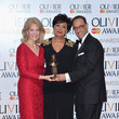 Shirley Bassey The Olivier Awards with Mastercard - Winners Room