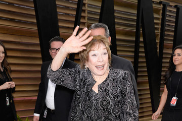 Shirley MacLaine Stars at the Vanity Fair Oscar Party