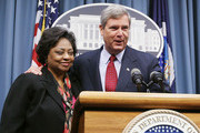 Shirley Sherrod Meets With Vilsack About New Job With USDA