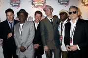 Terry Hall , Neville Staple, Roddy Byers of the Specials arrive at the Shockwaves NME Awards 2010 at Brixton Academy on February 24, 2010 in London, England.