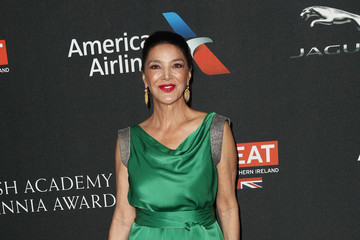 Shohreh Aghdashloo 2017 AMD British Academy Britannia Awards Presented by American Airlines and Jaguar Land Rover - Arrivals