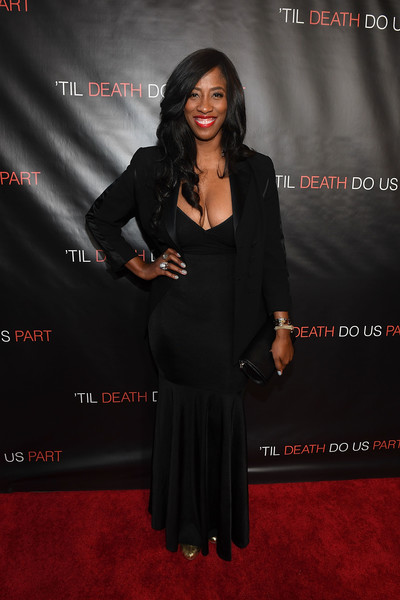 'Til Death Do Us Part' Atlanta Red Carpet Screening and Q&A with Marques Houston and Annie Ilonzeh