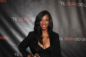 Shondrella Avery 'Til Death Do Us Part' Atlanta Red Carpet Screening and Q&A with Marques Houston and Annie Ilonzeh