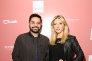 """Co-Hosts Michael Costello and Katheryn Winnick arrive at """"Shop for Success"""": Dress for Success West Coast (LA) fundraiser on November 29, 2018 in Los Angeles, California."""