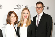 Chelsea Clinton and Linda Mills Photos Photo