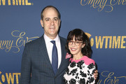 David Nevins and Andrea Blaugrund Nevins attend the Showtime Emmy Eve Nominees Celebration at Chateau Marmont on September 16, 2018 in Los Angeles, California.