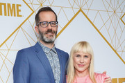Patricia Arquette and Eric White attend the Showtime Emmy Eve Nominees Celebrations at San Vincente Bungalows on September 21, 2019 in West Hollywood, California.