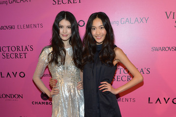 Shu Pei Qin Samsung Galaxy Features Arrivals At The Official Victoria's Secret Fashion Show After Party