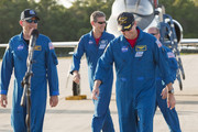 Space Shuttle Atlantis Commander Ken Ham prepares to address the media after arriving at the shuttle landing facility in their T-38 jets at Kennedy Space Center, May 10, 2010 in Cape Canaveral, Florida. The Atlantis crew are preparing for their launch, scheduled for launch May 14, to the International Space Station.