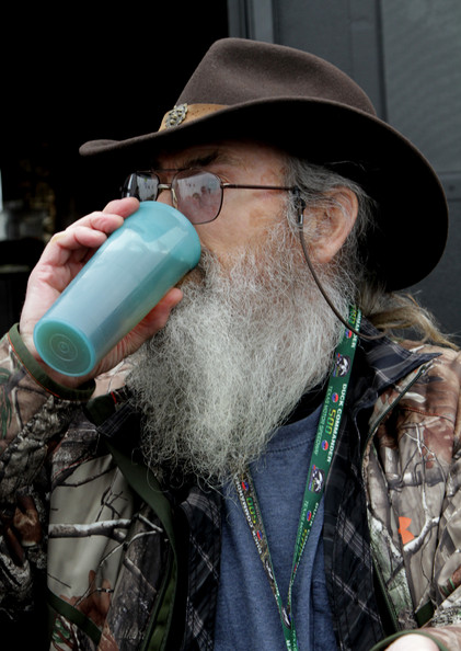 Si Robertson Reality TV personality Si Robertson greets fans in the