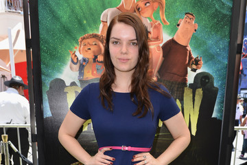 """Sianoa Smit-McPhee Premiere Of Focus Features' """"ParaNorman"""" - Red Carpet"""