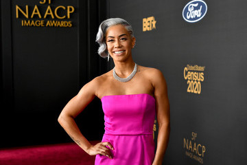 Sibley Scoles BET Presents The 51st NAACP Image Awards - Red Carpet