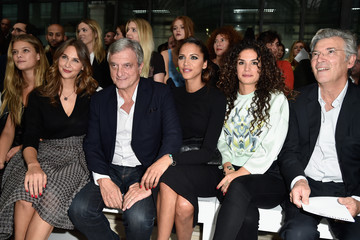 Sidney Toledano John Galliano : Front Row - Paris Fashion Week Womenswear Spring/Summer 2015