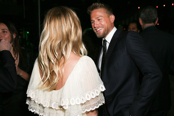 Premiere of Amazon Studios' 'The Lost City of Z' - After Party [the lost city of z,event,fashion,formal wear,dress,ceremony,fun,suit,smile,wedding,wedding reception,sienna miller,charlie hunnam,le jardin,california,amazon studios,party,premiere,party,premiere]