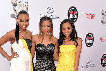 Sierra McClain 45th NAACP Image Awards Presented By TV One - Red Carpet