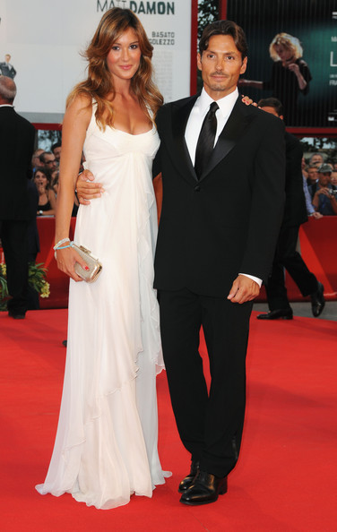 Opening Ceremony And Baaria Red Carpet: 66th Venice Film Festival [red carpet,carpet,suit,gown,formal wear,dress,clothing,flooring,tuxedo,event,baaria red carpet,piersilvio berlusconi,silvia toffanin,sala grande,venice,italy,opening ceremony,66th venice film festival]