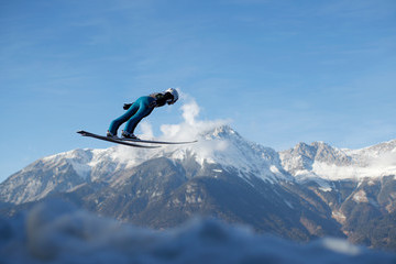 Simon Ammann 65th Four Hills Tournament - Innsbruck Day 1