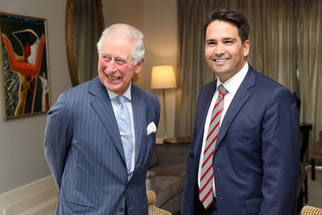 Simon Bridges The Prince of Wales And Duchess Of Cornwall Visit New Zealand - Day 3
