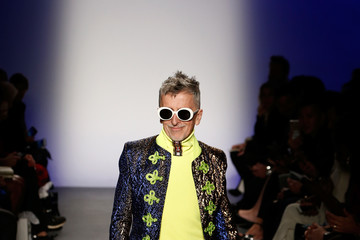 Simon Doonan The 3rd Annual Blue Jacket Fashion Show Benefitting The Prostate Cancer Foundation - Runway
