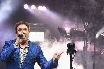 Simon Le Bon Duran Duran Performs in Concert - New York, NY