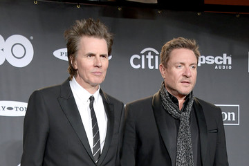 Simon Le Bon 2019 Rock & Roll Hall Of Fame Induction Ceremony - Press Room
