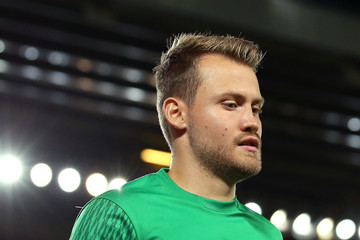 Simon Mignolet Liverpool FC v 1899 Hoffenheim - UEFA Champions League Qualifying Play-Offs Round: Second Leg