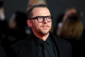 Simon Pegg 'Star Wars: The Last Jedi' European Premiere - Red Carpet Arrivals