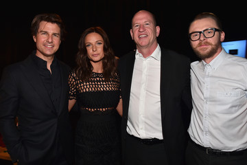 Simon Pegg Rebecca Ferguson CinemaCon 2015 - The State Of The Industry: Past, Present And Future And Paramount Pictures Presentation