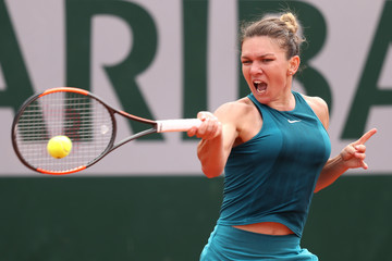 Simona Halep 2018 French Open - Day Eleven