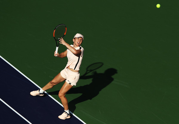 Simona Halep Survives Scare As US Open Champion Stephens Progresses In Indian Wells